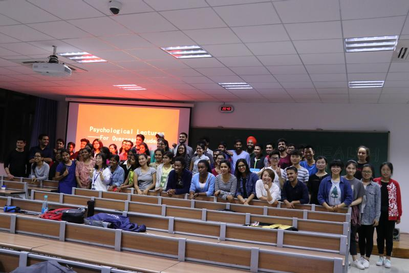 PSYCHOLOGY LECTURE GROUP PHOTOS